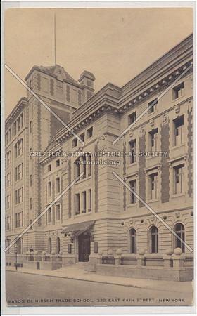 Hirsch Trade School, 222 E 64 St, NYC