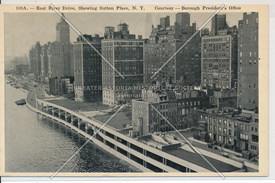 Manhattan East River after East River Drive