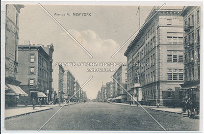 Avenue A (York Ave) & 76 St, NYC (north)