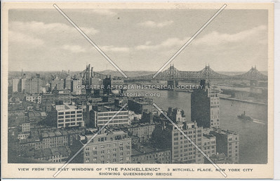 View of East River from Manhattan