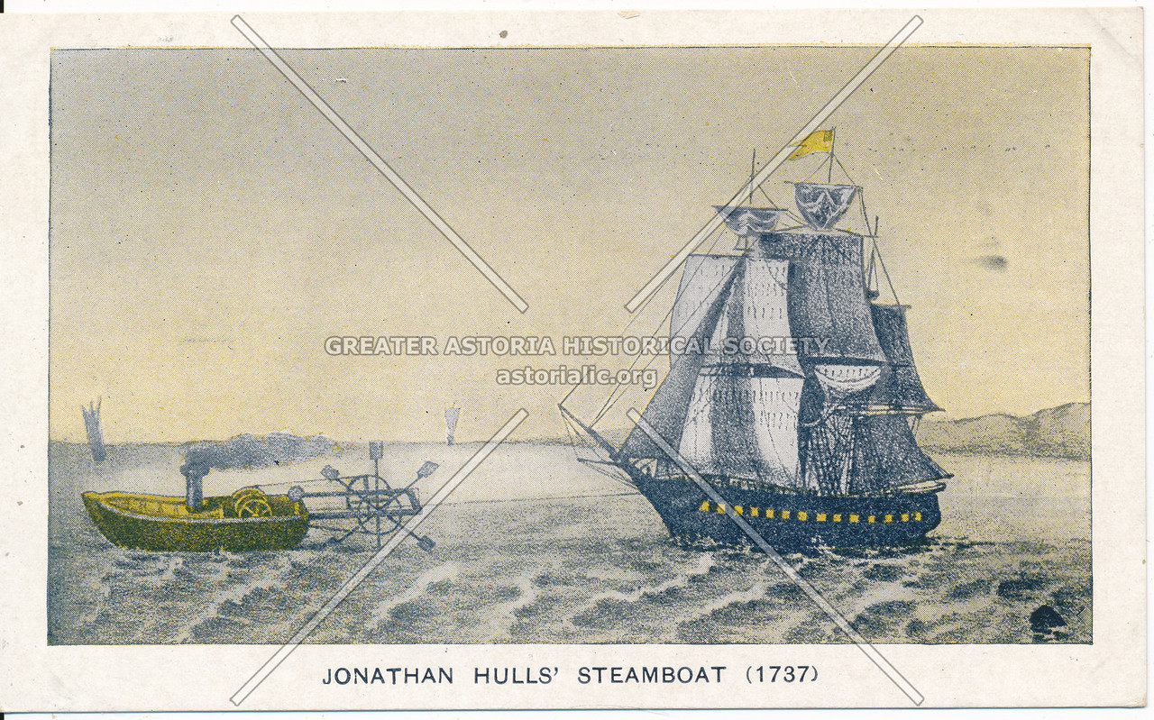 Hull's Steamboat (1737)