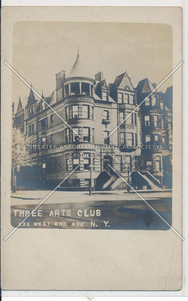 Three Arts Club, 536 West End Ave, NYC
