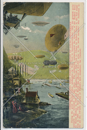 Hudson Fulton Celebration (1909) - Airship Race