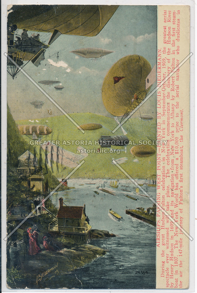 Hudson Fulton Celebration (1909) - Airship Race