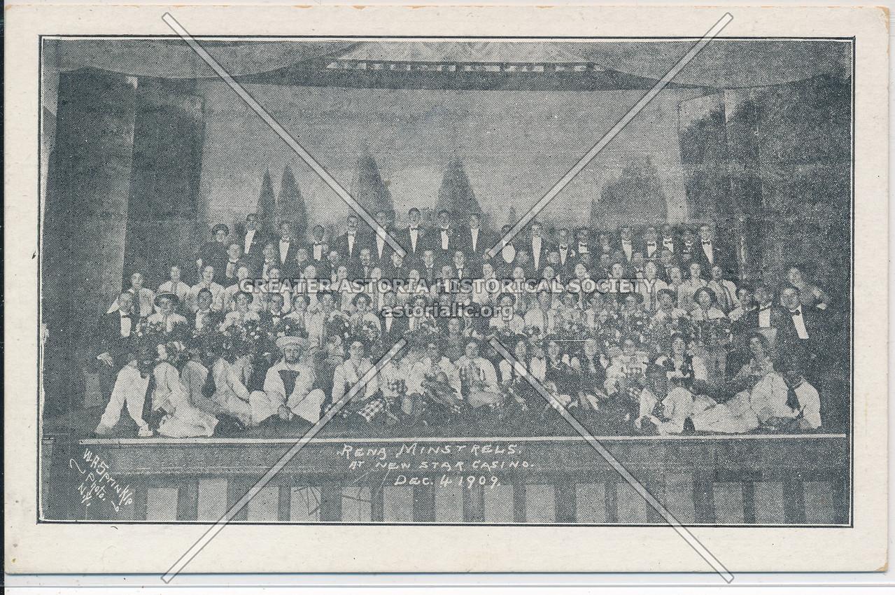 Reng Minstrals at New Star Casino, NYC (1910)