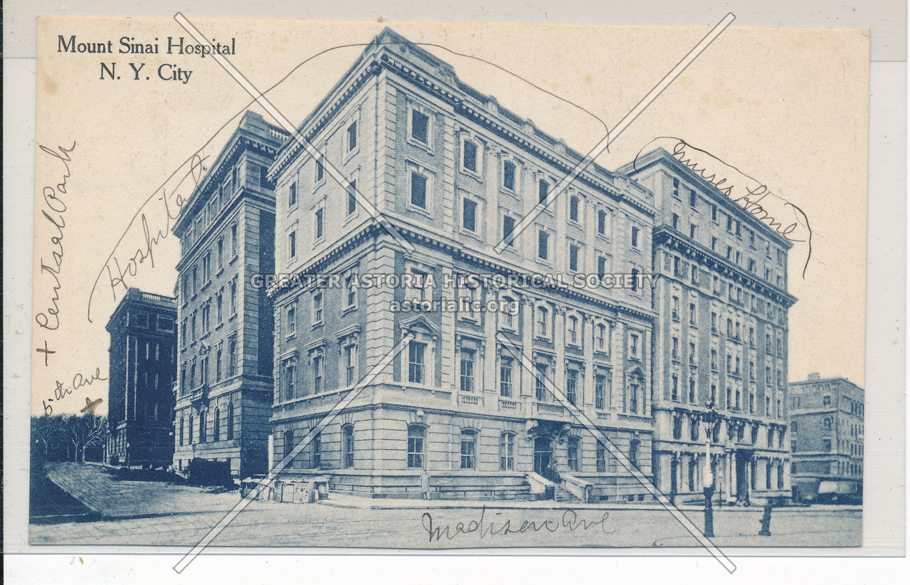 Mt. Sinai Hospital, NYC