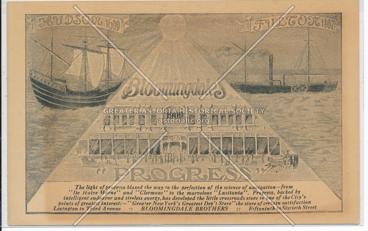 Hudson Fulton Celebration (1909) - Bloomingdales