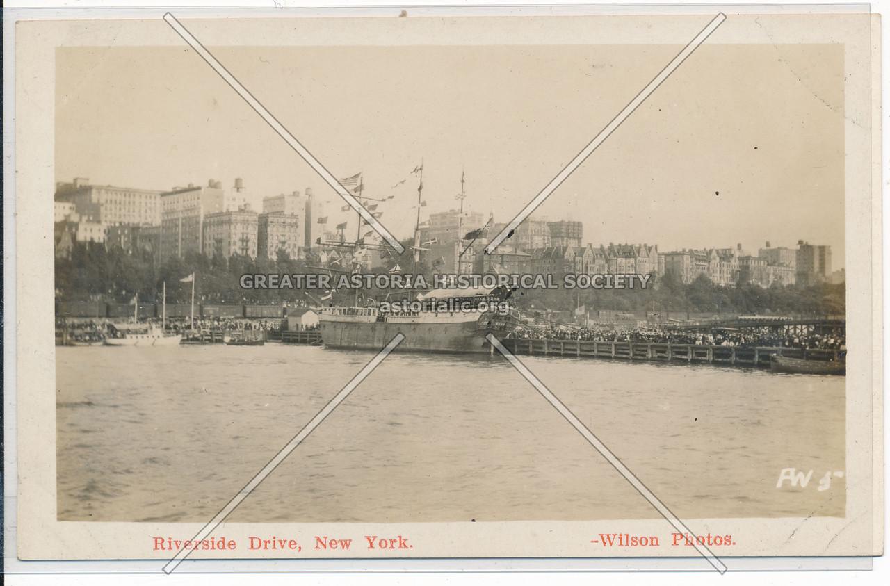 Hudson Fulton Celebration (1909) - Riverside Drive