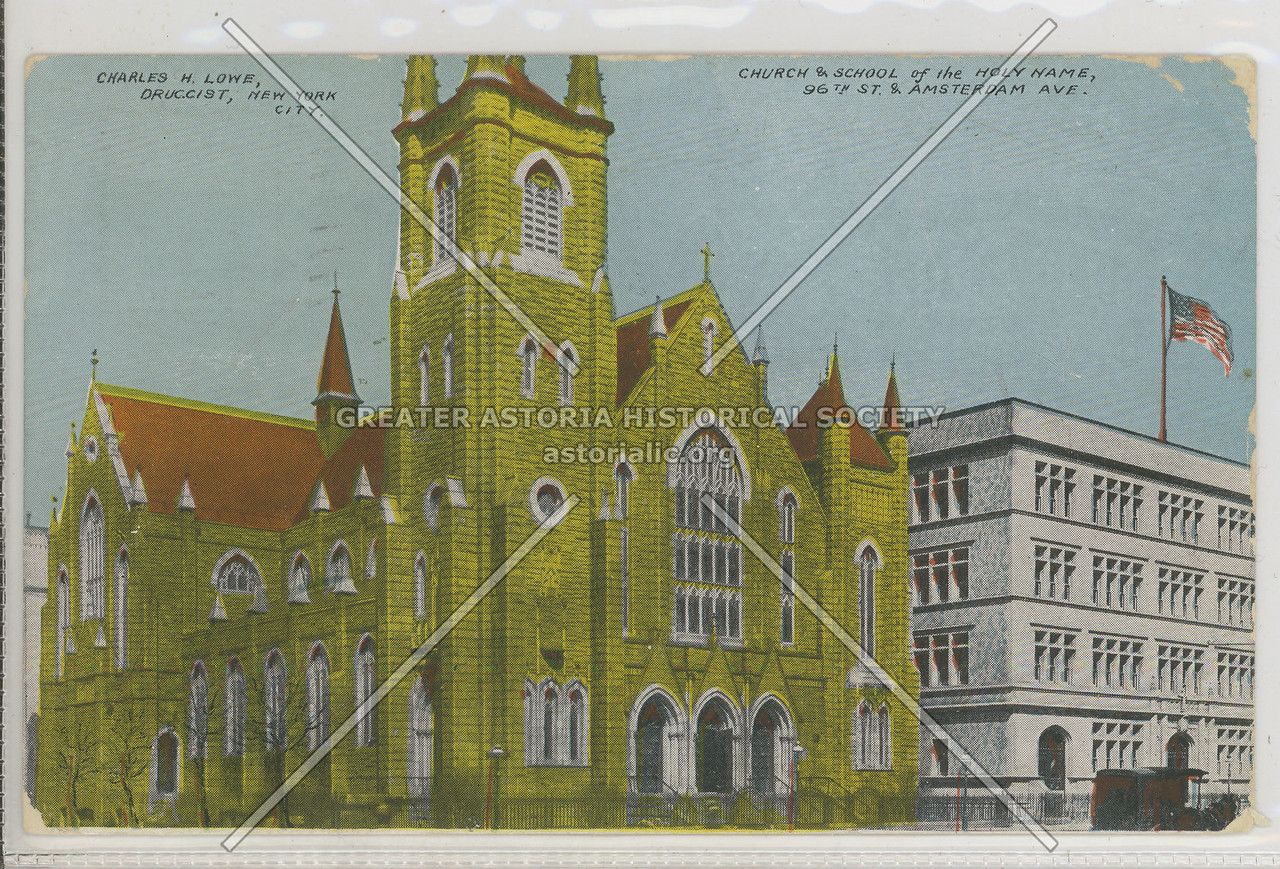 Church & School of the Holy Name, 96 St & Amsterdam Ave, NYC