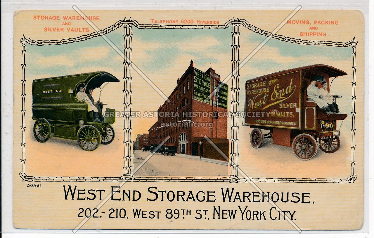 West End Storage, 202 W 89 St, NYC