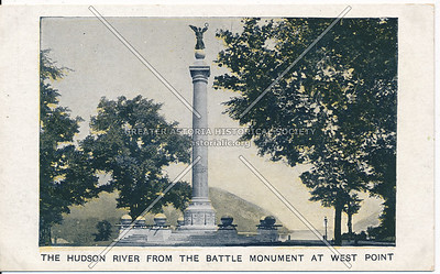 Hudson River from Battle Monument, West Point