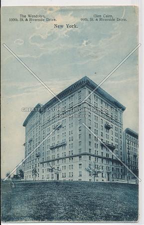 The Wendelyn & Glen Cairn, Riverside & 99 St, NYC