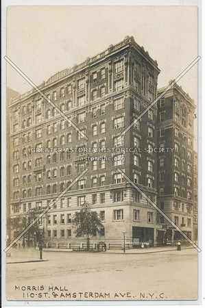 Morris Hall, 110 St & Amsterdam Ave, NYC