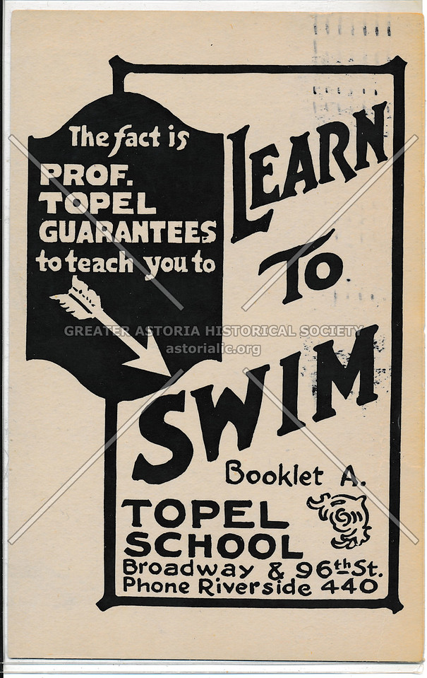 Topel Learn to Swim School, B'way & 96 St, NYC