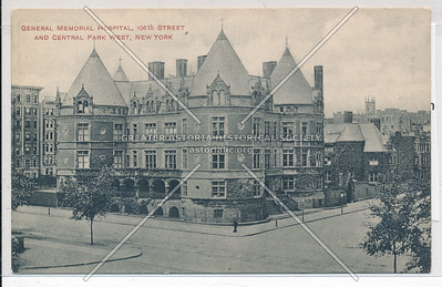 Central Memorial Hospital, 106 St & CPW, NYC