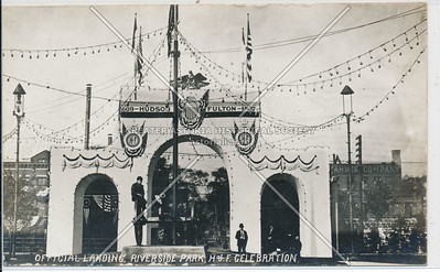 Hudson Fulton Celebration (1909) - Hudson River Offical Reviewing Stand