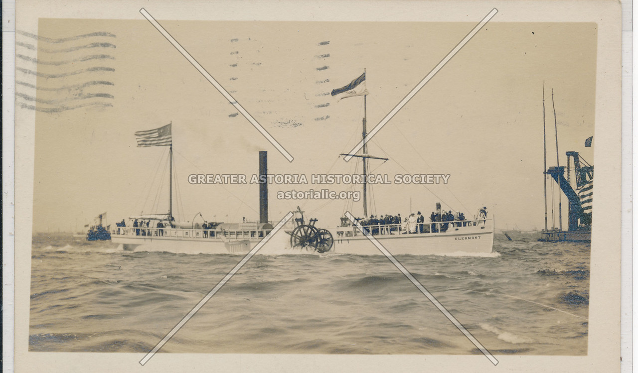 Hudson Fulton Celebration (1909) - Fulton Boat Replica