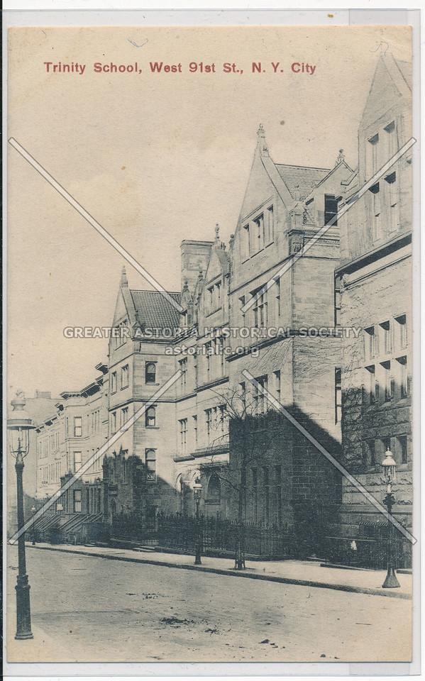 Trinity School, W 91 St, NYC