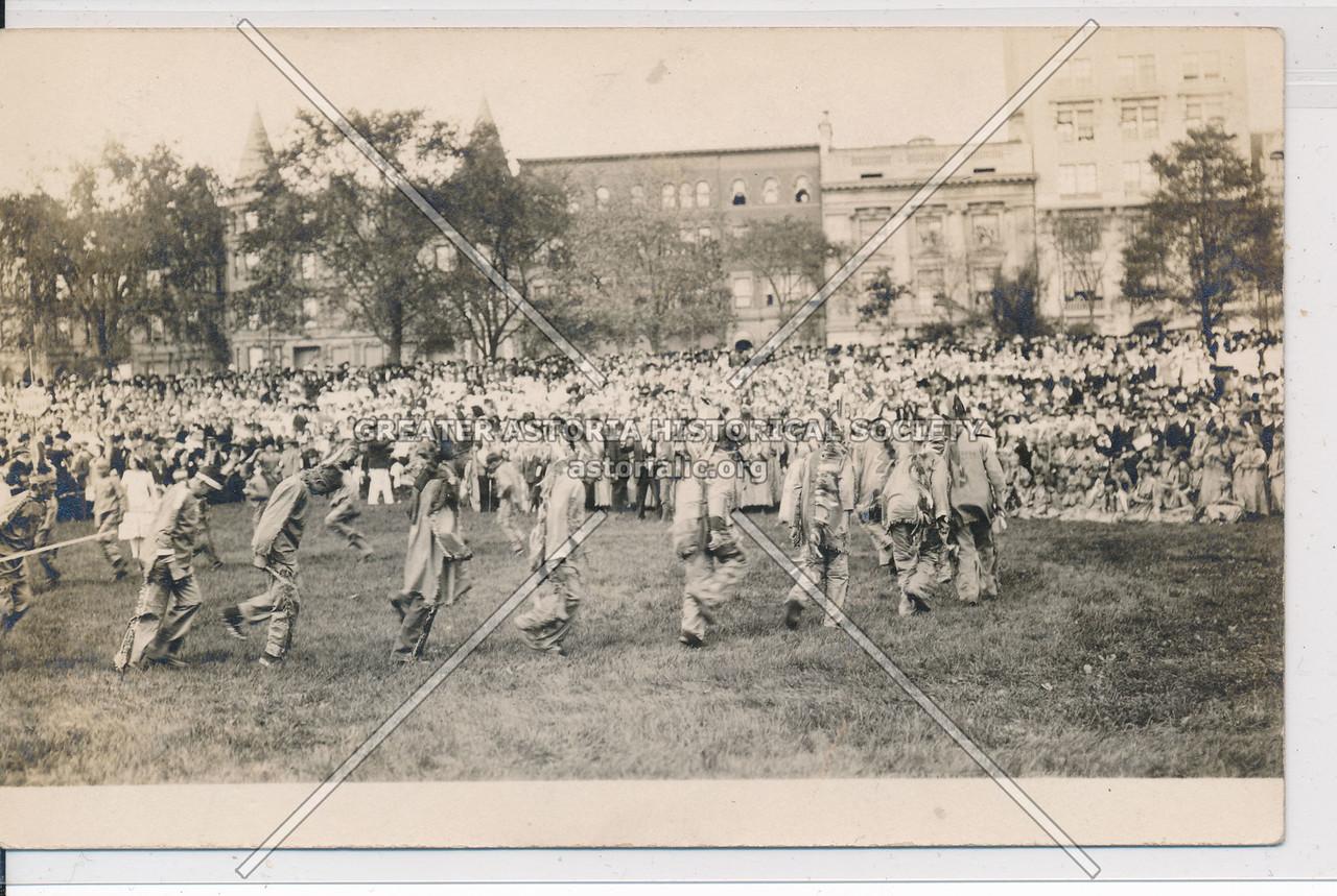 Hudson Fulton Celebration (1909) - Indian Gathering at Hayden Site