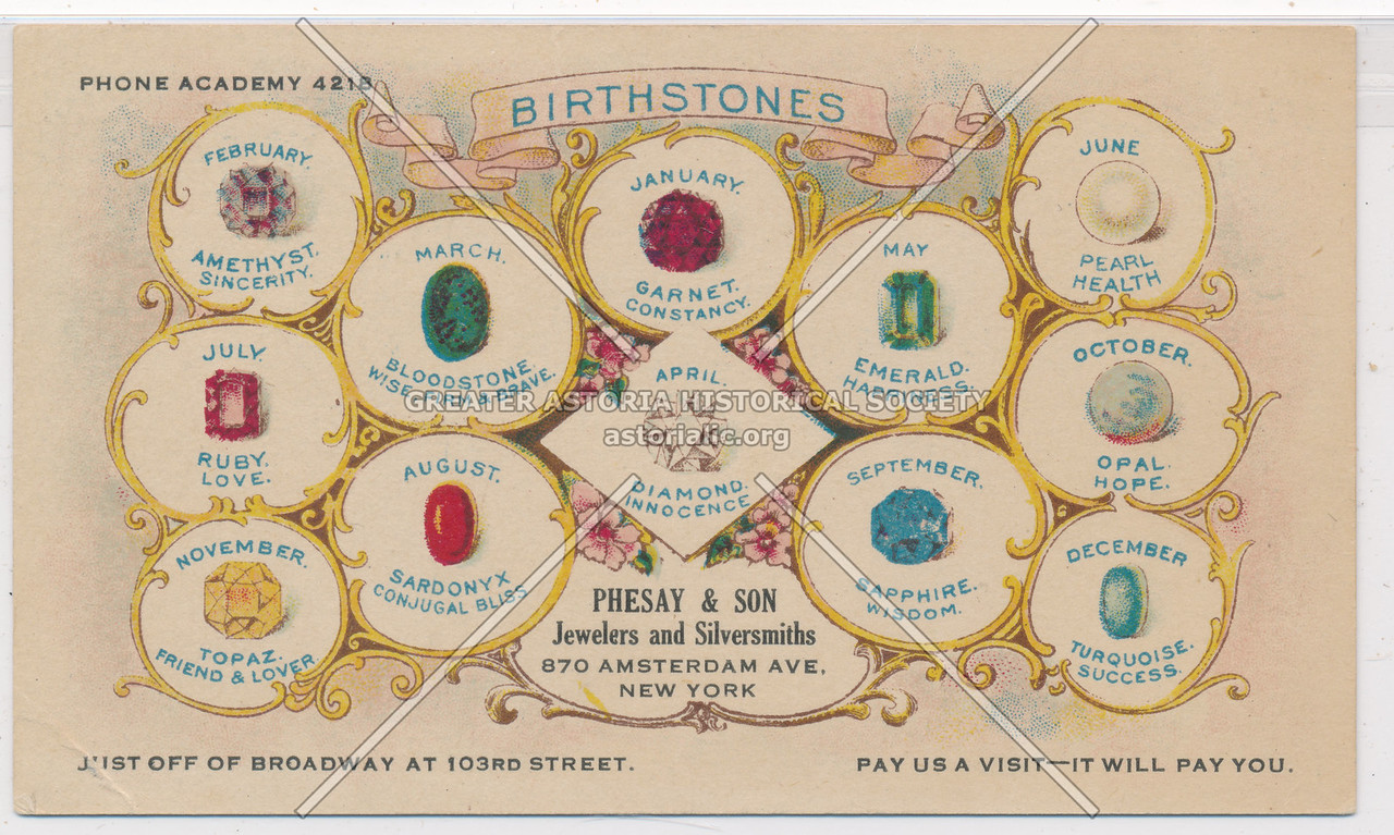 Phesay Jeweler, 870 Amsterdam Ave, NYC