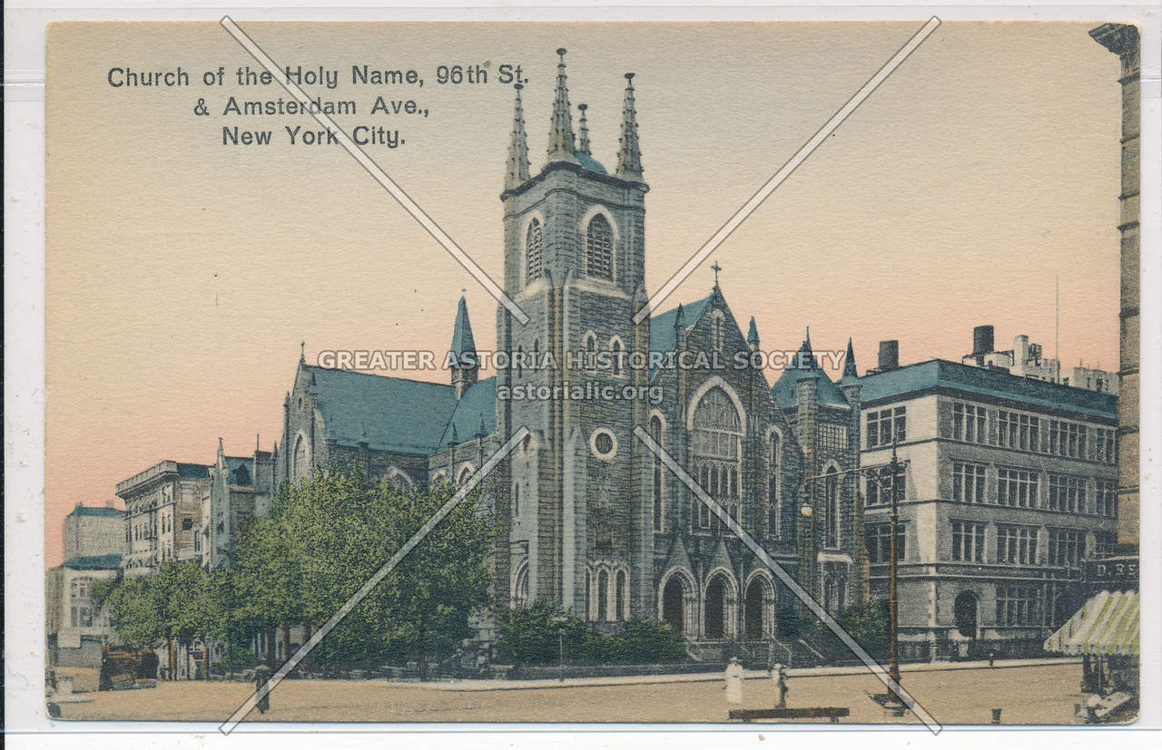 Holy Name R C Church, 96 St & Amsterdam Ave, NYC
