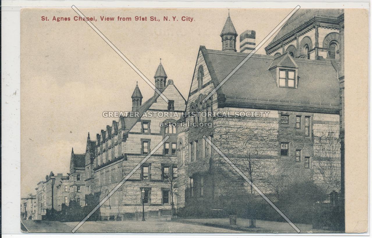 St. Agnes Church, W 91 St, NYC