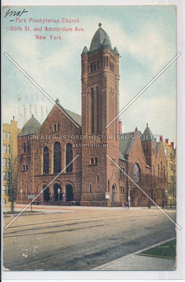 Park Presbyterian Church, 86 St & Amsterdam Ave, NYC