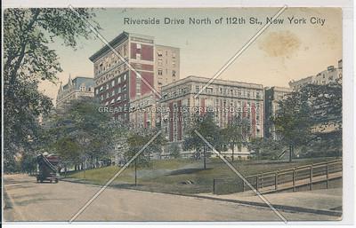 Riverside Dr N of 112 St, NYC