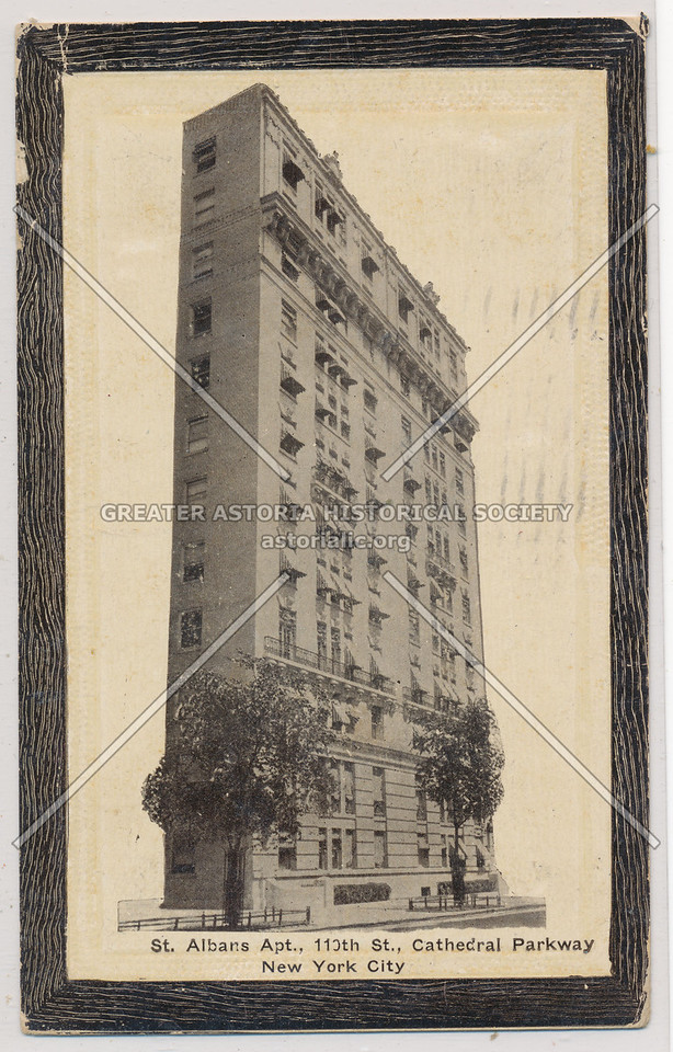 St Albans Apt, 110 St, Cathedral Parkway, NYC