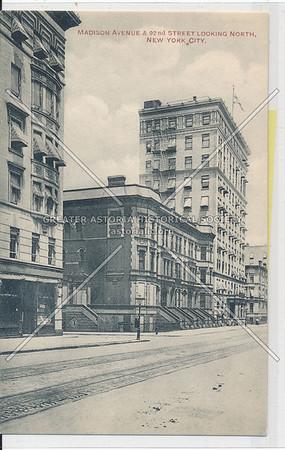 Madison Ave & 92 St, NYC