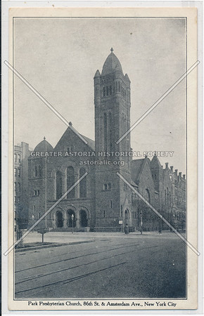 Park Presbyterian Church, 86 St & Amsterdam Ave, NYC