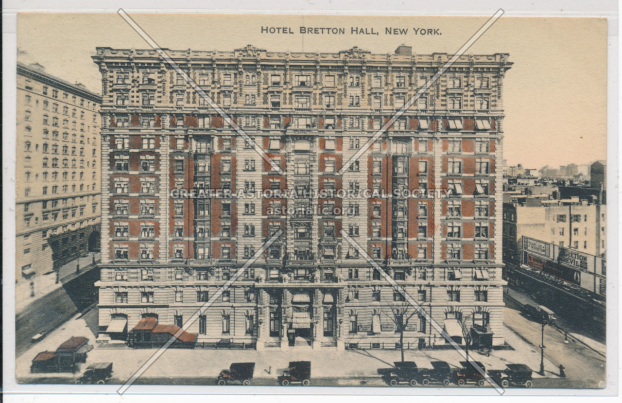 Hotel Bretton Hall, W 86 st & B'way, NYC