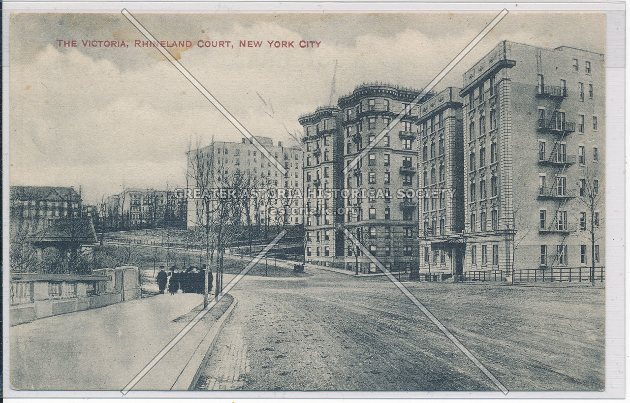 The Victoria, Rhineland Court, Riverside Dr, NYC