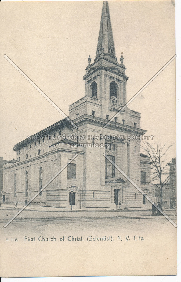 First Church of Christ, NYC