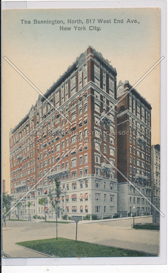 The Bennington, 817 W End Ave, NYC
