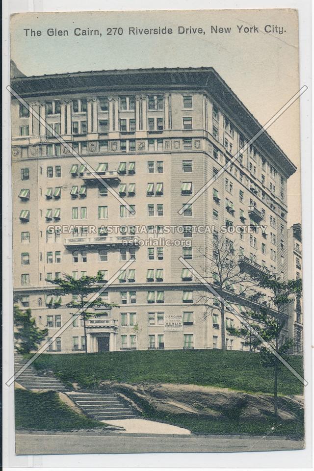 The Glen Cairn, 270 Riverside Dr, NYC