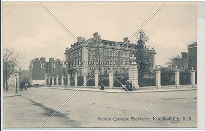 Andrew Carnegie Residence, 5th Ave, NYC