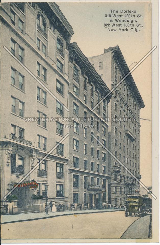 The Dorexa & Wendolyn, W 100 St, NYC
