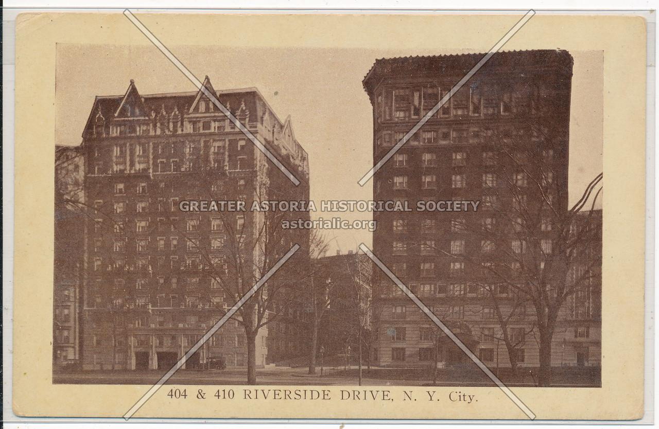 404 Riverside Dr, NYC