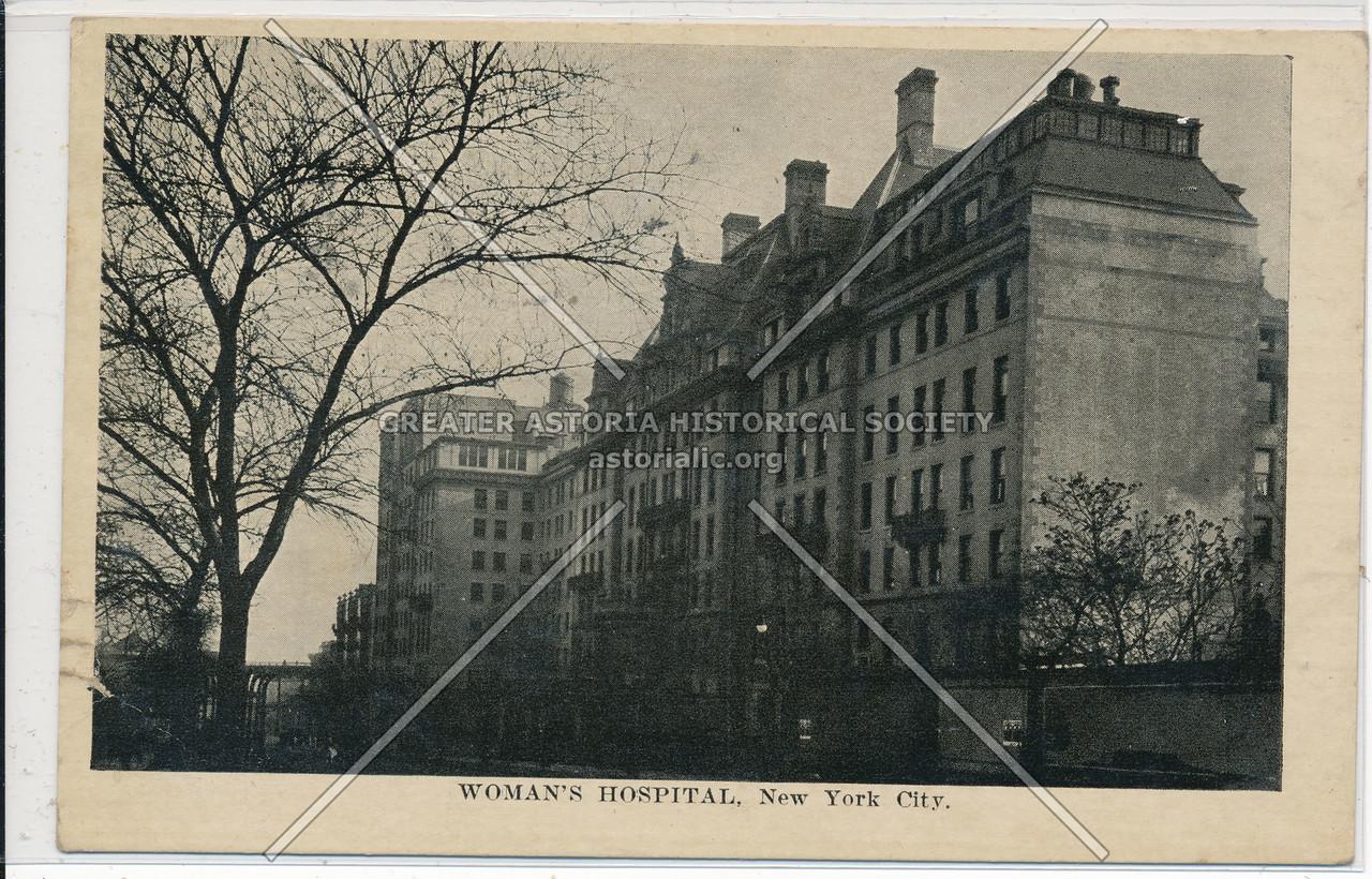 Women's Hospital, 141 W 109 St, NYC