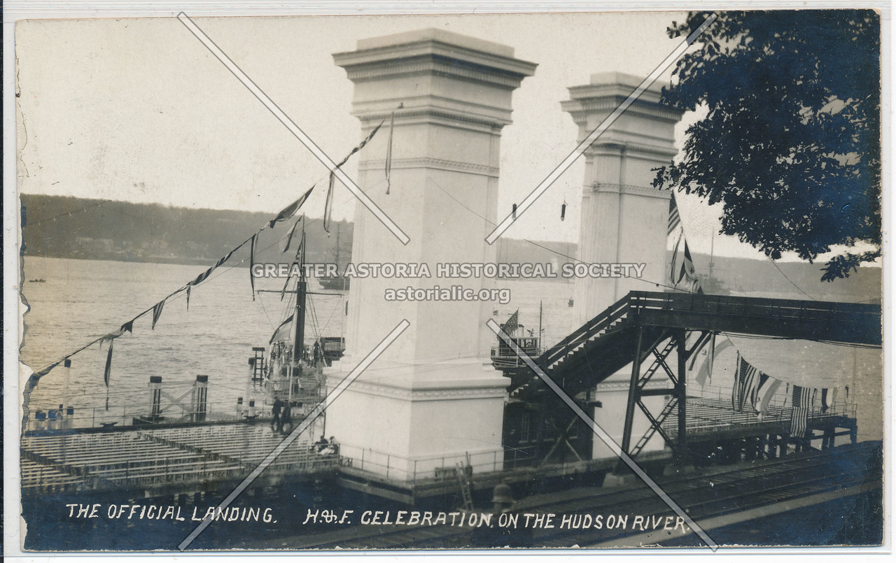 Hudson Fulton Celebration (1909) - Hudson River Offical Reviewing Stand