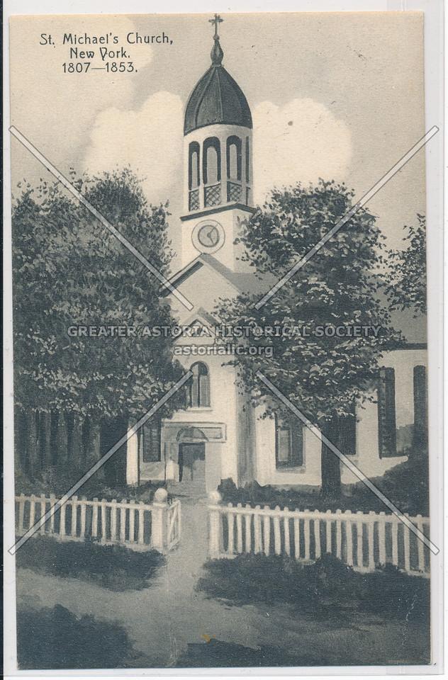 St Michael Church, Amsterdam & 99 St, NYC (1807-1853)