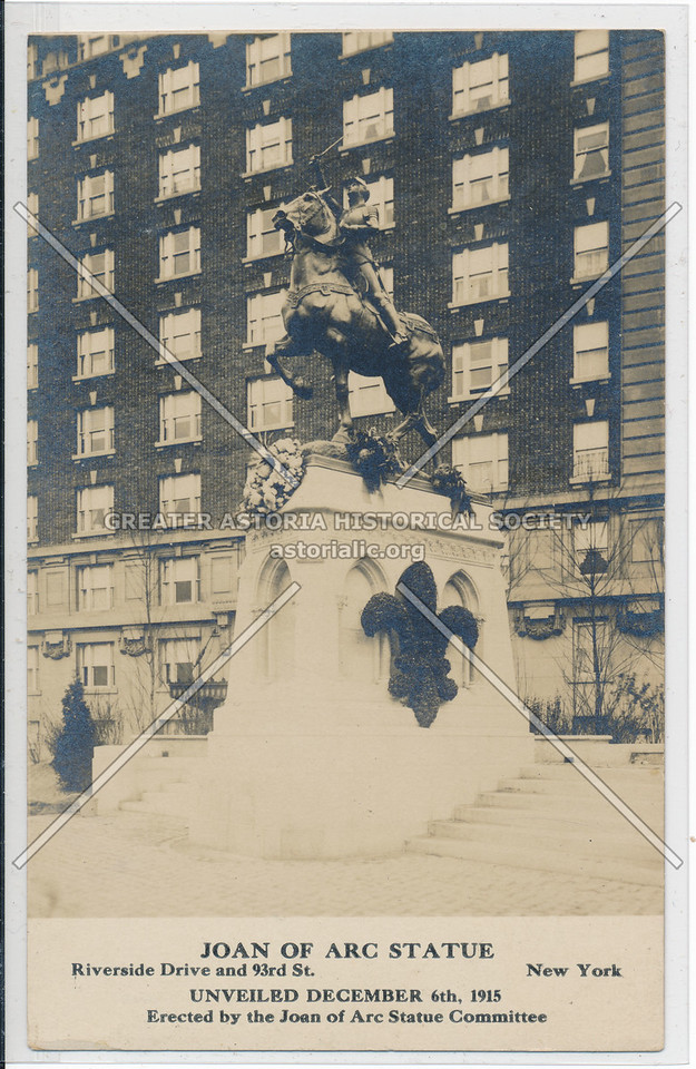 Joan of Arc Statue, Riverside Dr & 93 St, NYC
