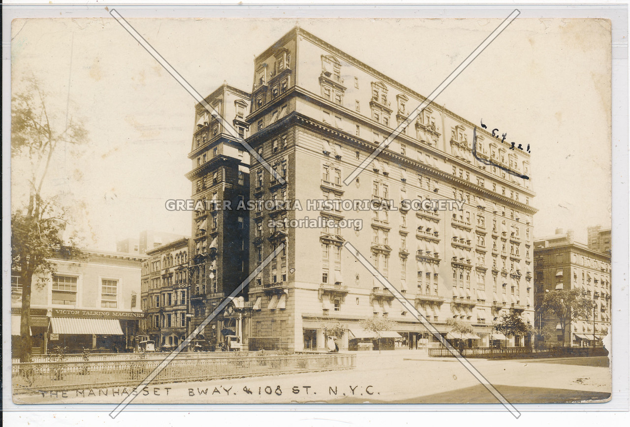 The Manhasset, 109 St & B'way, NYC