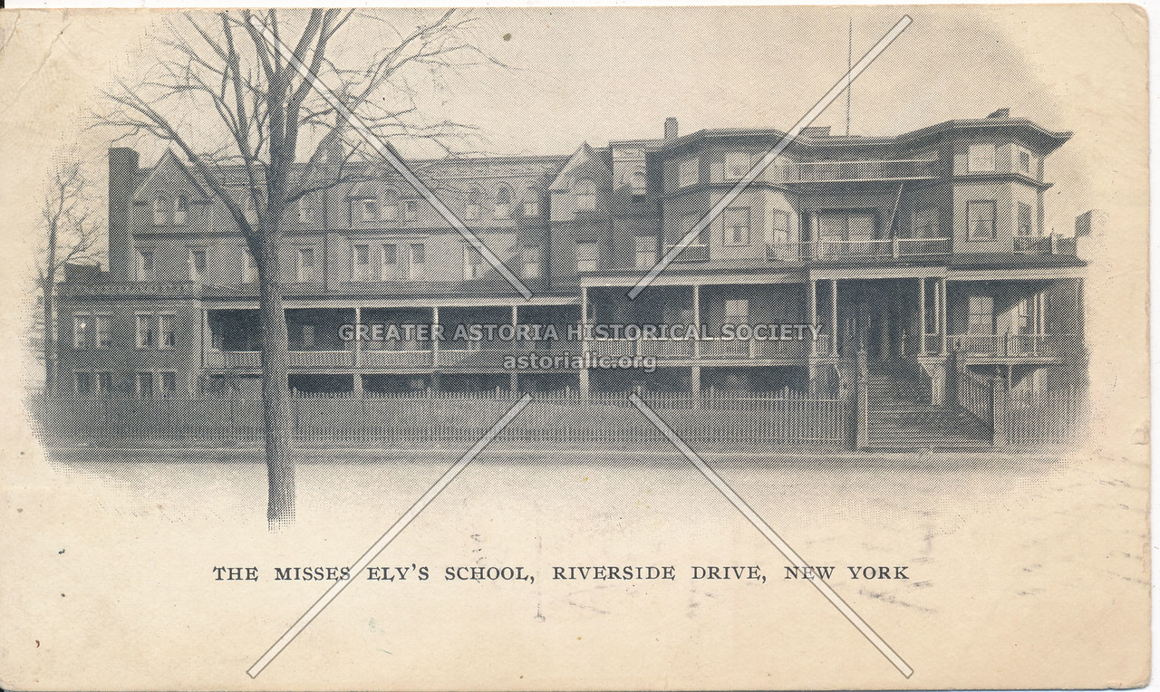 Misses Ely School, W 85 St & Riverside Dr, NYC