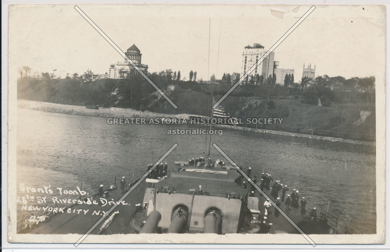 Hudson Fulton Celebration (1909) - Naval Parade - Grants Tomb