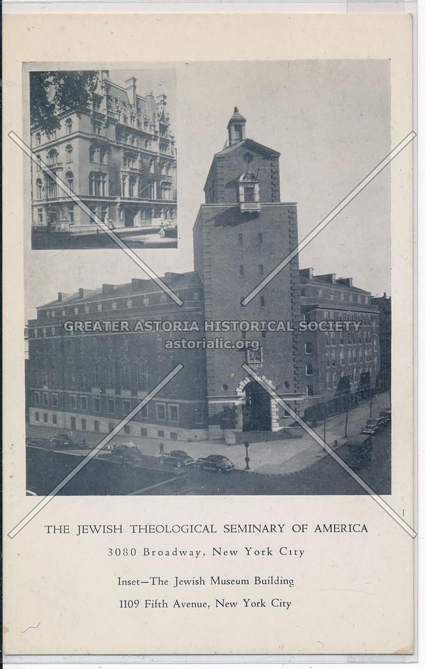 Jewish Theological Seminary, 3080 B'way, NYC