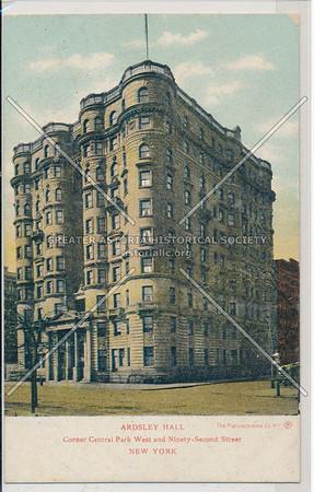 Arsley Hall, C.P.W. & 92 St, NYC