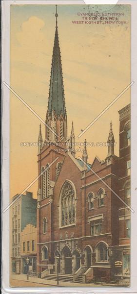 Evangelic Lutheran Trinity Church, W 100 St, NYC