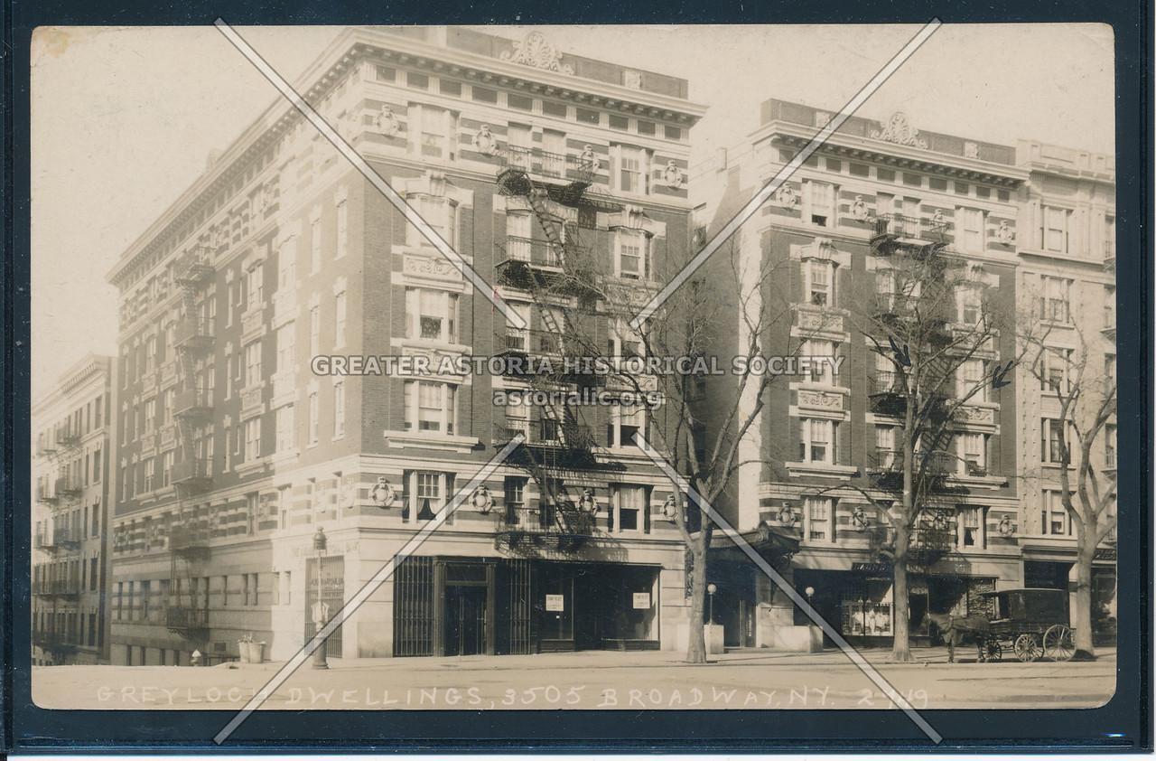 Greyloch Dwellings, 3505 B'way, NYC